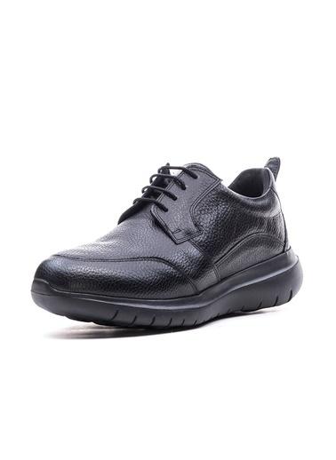 Bulldozer 200006 Erkek Deri Comfort  Ayakkabı Siyah
